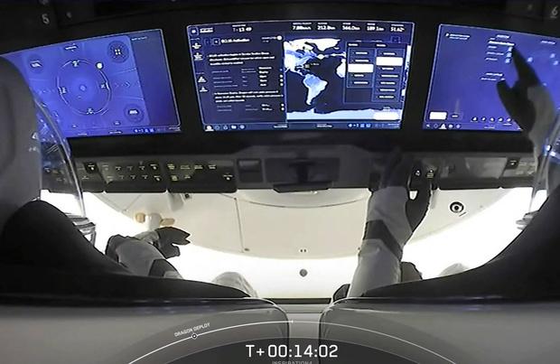 SpaceX : les quatre touristes spatiaux ont commencé leur croisière spatiale