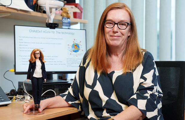 Une Barbie à l'effigie de la co-créatrice du vaccin d'AstraZeneca