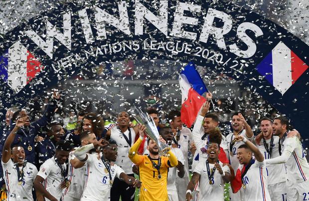 Ligue des nations: la France bat l'Espagne 2-1 en finale