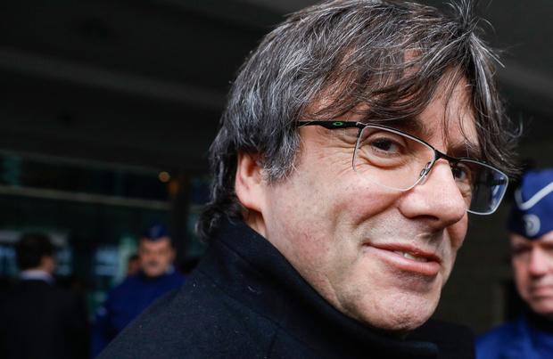 Puigdemont de retour à Bruxelles après sa brève arrestation en Italie