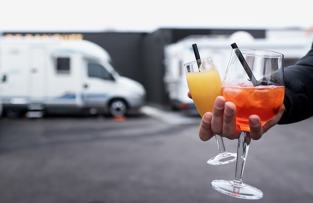 "Un restaurant en ""drive-in"" et en camping-car (en images)"