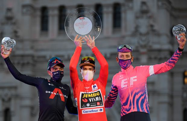 Vuelta: Primoz Roglic, une victoire en forme de revanche
