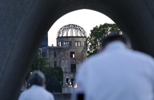 Le Japon commémore les 76 ans de la bombe de Hiroshima pendant les JO