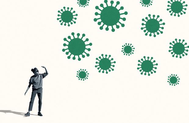 Plus d'une personne contaminée sur cinq présente encore des symptômes deux mois après