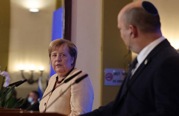 Angela Merkel soutient Israël dans sa tournée d'adieu