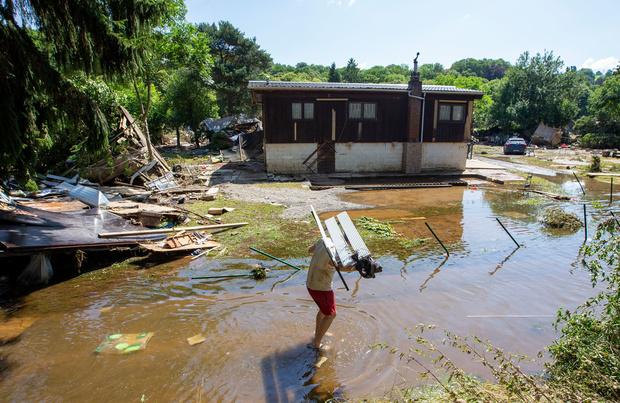 Inondations en Belgique: 31 morts et 163 personnes toujours présumées portées disparues