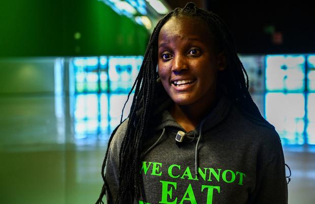 Vanessa Nakate, la voix des plus vulnérables au changement climatique.
