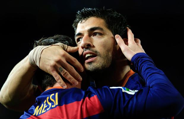 Messi-Suarez, une franche amitié et peut-être les dernières retrouvailles