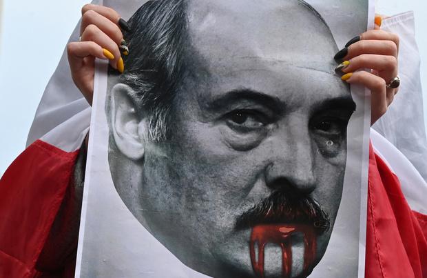 Loukachenko en Russie