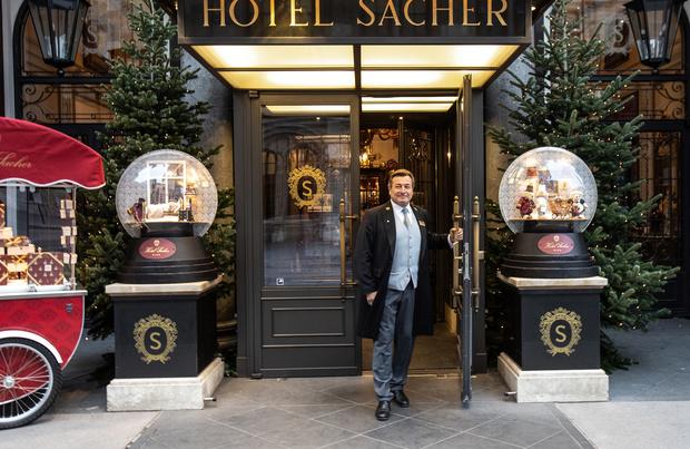 Le mythique hôtel Sacher de Vienne tente de garder son lustre