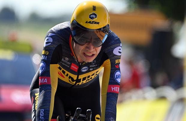 Tour de France: van Aert roi du chrono