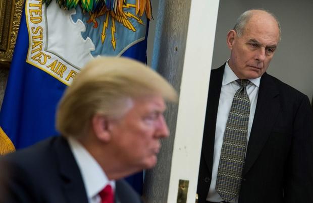 John Kelly, ancien chef de cabinet de Trump, marque ses désaccords