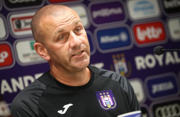 """Anderlecht prône un jeu attractif avec son entraîneur pour qui """"les rôles sont clairs"""""""