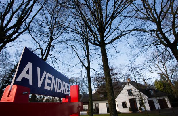 Le prix moyen d'une maison a augmenté de 10.000 euros en un an en Belgique