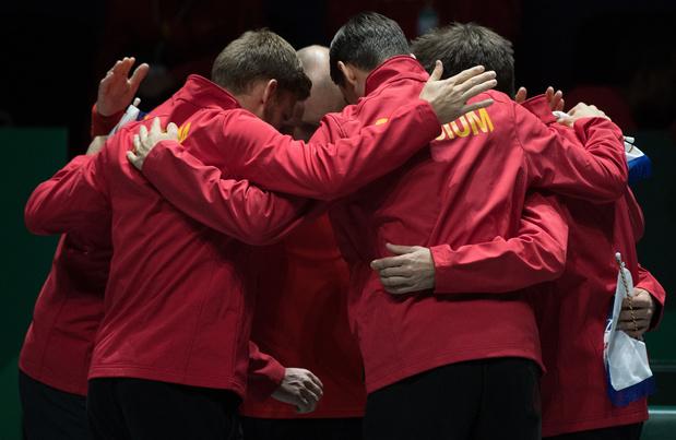 Coupe Davis: la Belgique face à l'Australie pour une place en quarts de finale