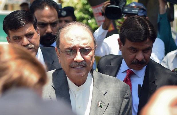 Pakistaanse ex-president opgepakt wegens corruptie