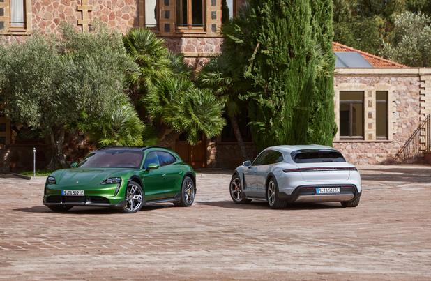 Porsche Taycan Cross Turismo, le crossover familial 100% électrique de luxe
