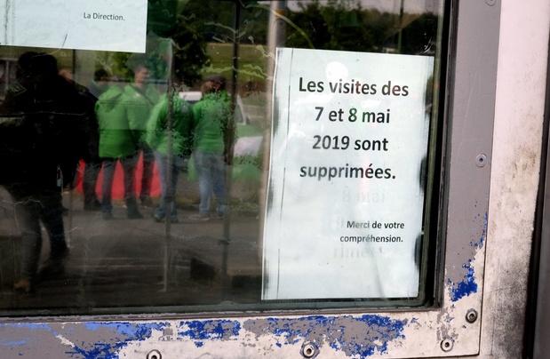 Mouvement de grève dans les prisons belges
