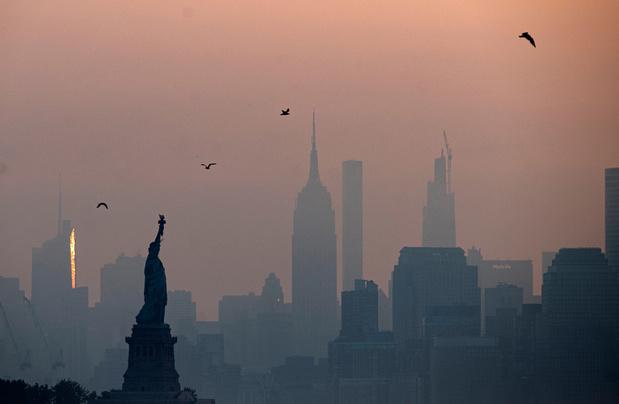 A New York meurtrie par la pandémie, l'exode a commencé et les prix flambent