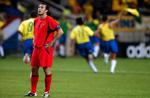 Flash-back tactique: Belgique-Brésil 2002