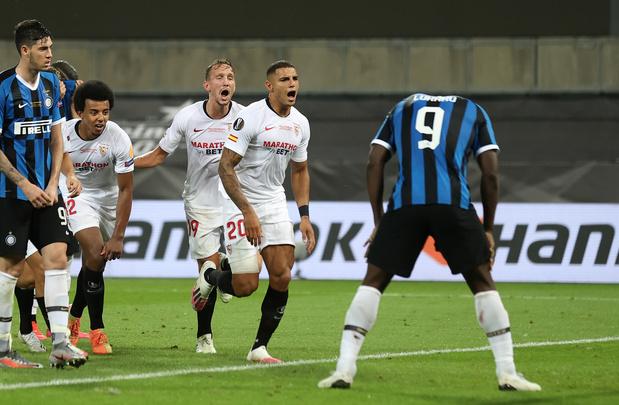 Séville bat l'Inter Milan de Romelu Lukaku et remporte l'Europa League pour la 6e fois