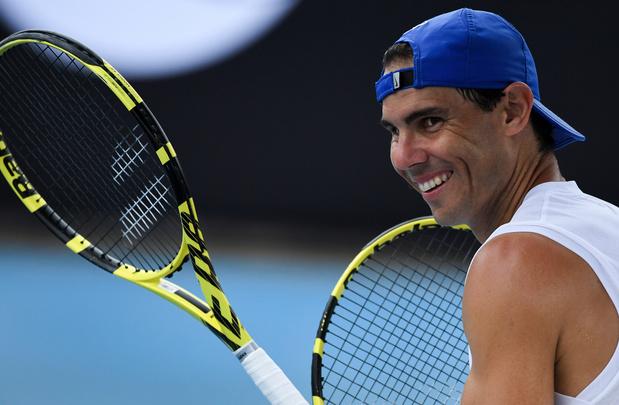"""Nadal, avant le duel contre la Belgique : """"J'espère être prêt à hausser mon niveau"""""""