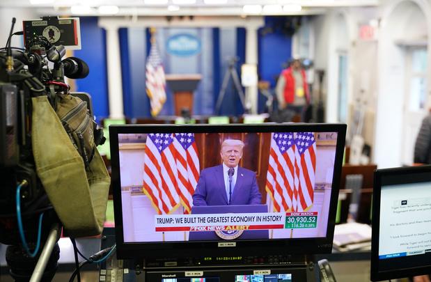 Donald Trump in afscheidsvideo: 'Dit is maar het begin'