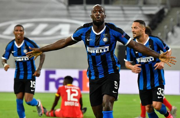 L'Inter en demi-finale de l'Europa League, Lukaku buteur