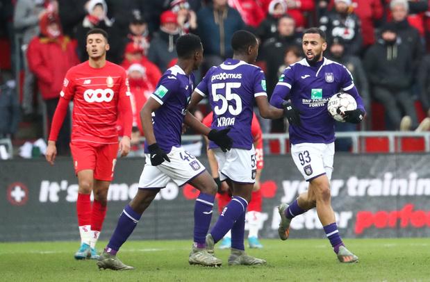 Un bon point pour Anderlecht, des regrets pour le Standard