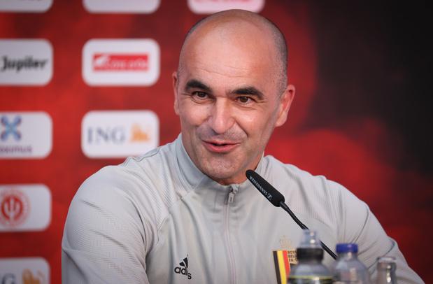 "Roberto Martinez : ""Axel Wistel sera impliqué dans le match contre le Danemark"""