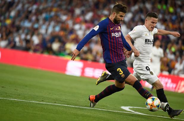 Valence prive le Barça d'un quintuplé record et s'offre sa 8e Coupe du Roi