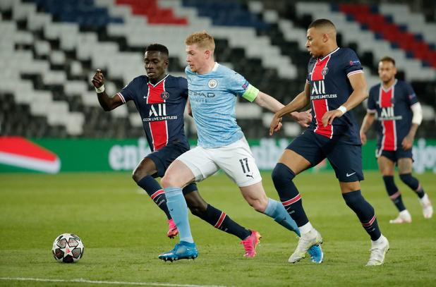 Champions League: Manchester City doet gouden zaak bij PSG, Kevin De Bruyne Man van de Match
