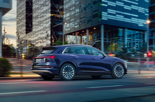 Audi e-tron komt verder met zijn batterij