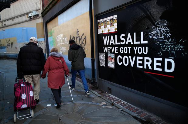 Désertée, Walsall paie cher la crise du commerce britannique