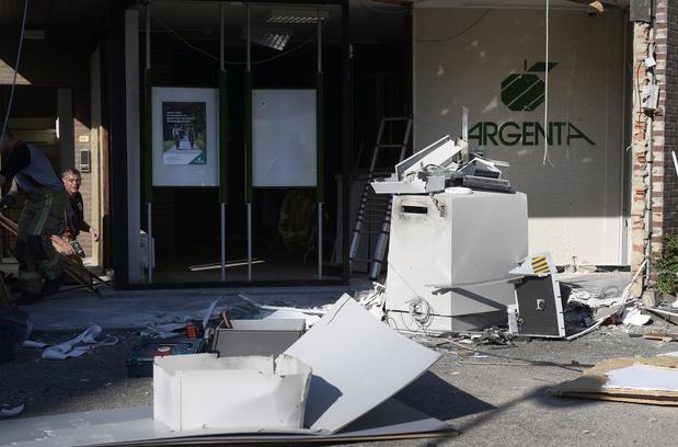 Argenta sluit alle bankautomaten na plofkraken
