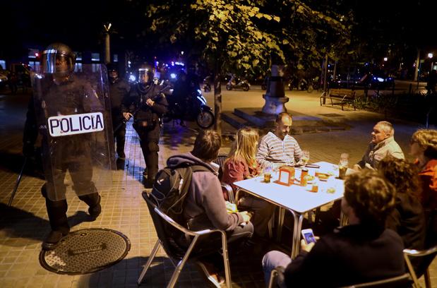 Les autorités belges mettent en garde les touristes contre les manifestations en Catalogne