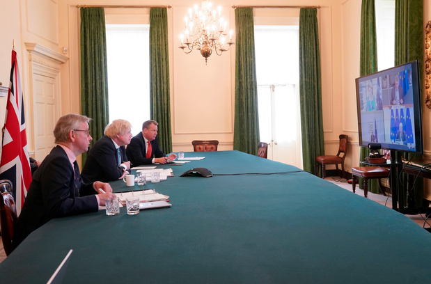 Appel décisif entre von der Leyen et Johnson pour débloquer la négociation sur le Brexit