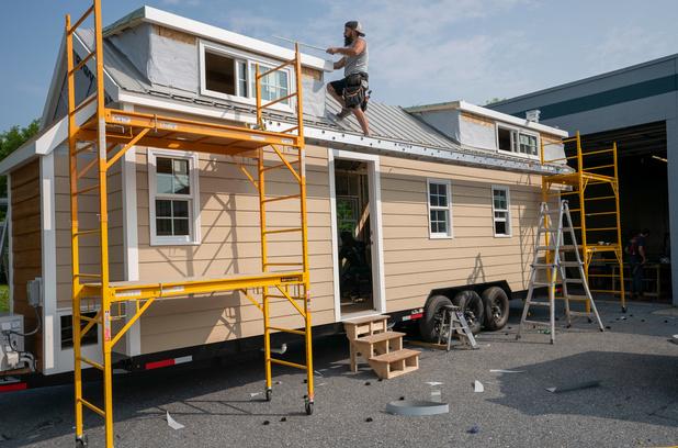 """""""Tiny Houses"""", des mini-maisons qui séduisent de plus en plus d'Américains"""