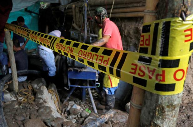 Colombia: elf mijnwerkers na wekenlange zoektocht dood teruggevonden