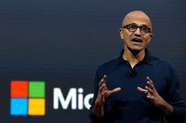 Vrouwen kaarten seksisme aan binnen Microsoft