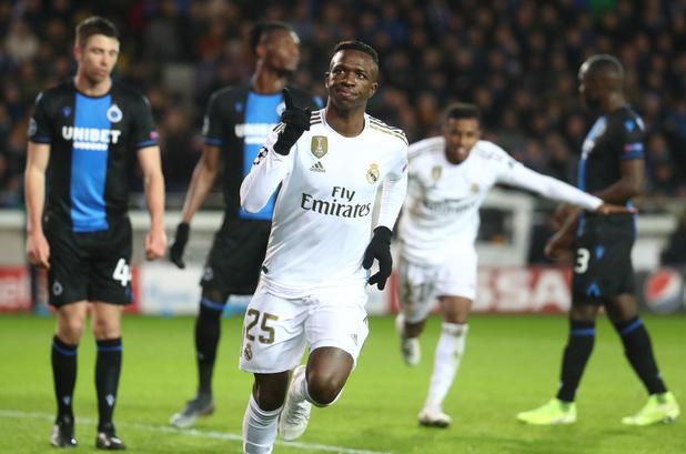 Bruges s'incline sans rougir face au Real et file en Europa League