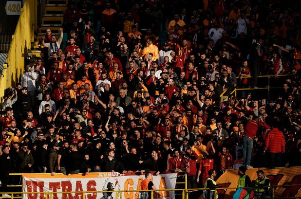 Une trentaine de supporters turcs interpellés à Bruges