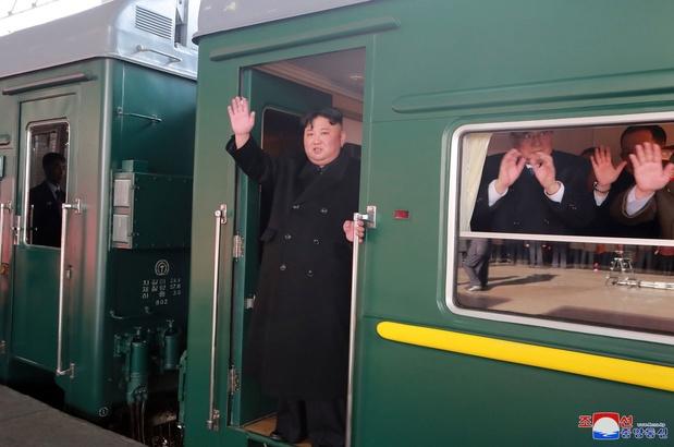 Kim Jong Un est arrivé à Vladivostok pour son premier sommet avec Poutine