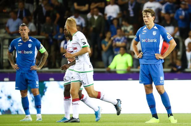 Genk subit une nouvelle défaite, à domicile, contre Zulte Waregem