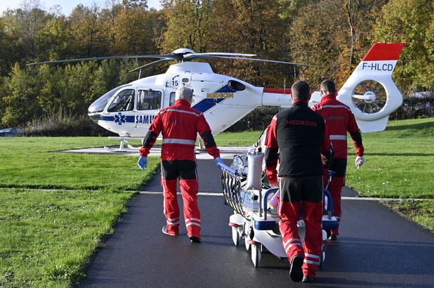 Un premier patient Covid transféré par voie aérienne du CHU de Liège vers l'Allemagne