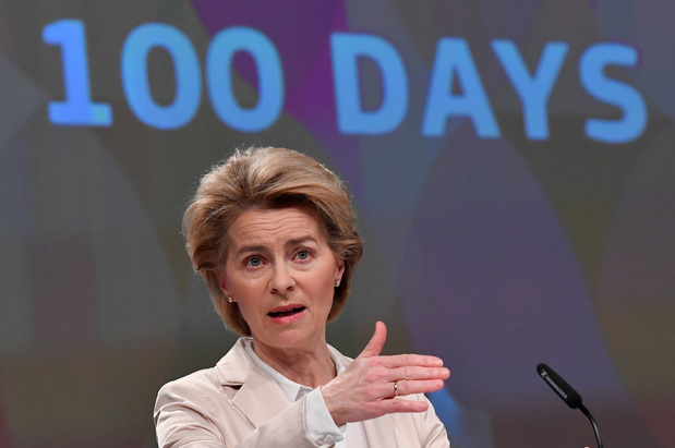 """Ursula von der Leyen : """"Toute réponse doit être proportionnée, et toute violence excessive est inacceptable, il faudra des enquêtes"""""""