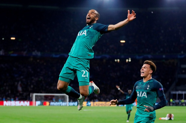 Tottenham crucifie l'Ajax à la dernière seconde dans une nouvelle demi-finale épique! (vidéos)