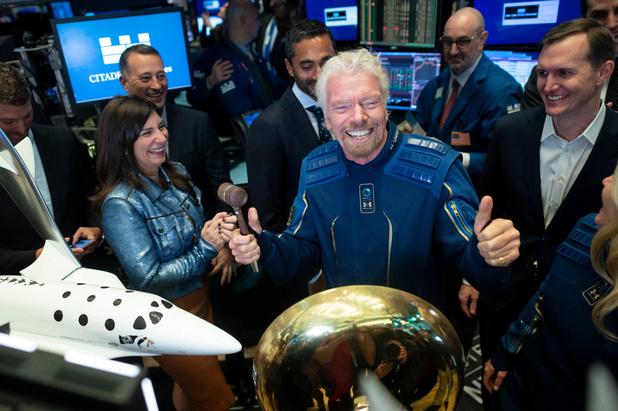 Richard Branson dans l'espace neuf jours avant Jeff Bezos
