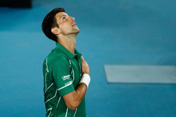 Coronavirus: Djokovic fait don d'un million d'euros