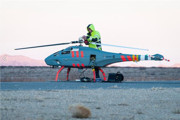 Zweeds-Zwitserse drones voor toekomstige mijnenbestrijdingsvaartuigen Belgische marine